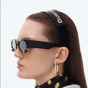 Alexander Wang Black/Gold Headband
